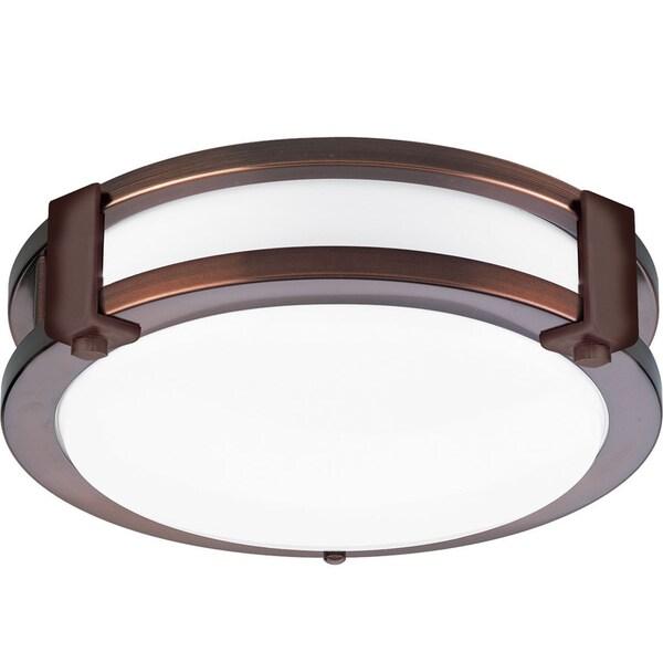 euro oil rubbed bronze decorative fluorescent ceiling light fixture. Black Bedroom Furniture Sets. Home Design Ideas