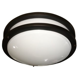Euro Oil-rubbed Bronze Decorative Fluorescent Ceiling Light Fixture