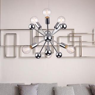 Link to Lorena Sputnik Chrome Finish Industrial 6-light Chandelier - N/A Similar Items in Chandeliers