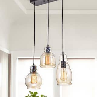 Mariana Antique Black Cognac Glass Cluster 3-light Pendant|https://ak1.ostkcdn.com/images/products/12144790/P19000069.jpg?impolicy=medium