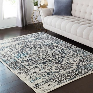 Machine Made Potomac Polyester/Wool Rug (1'11 x 2'11)