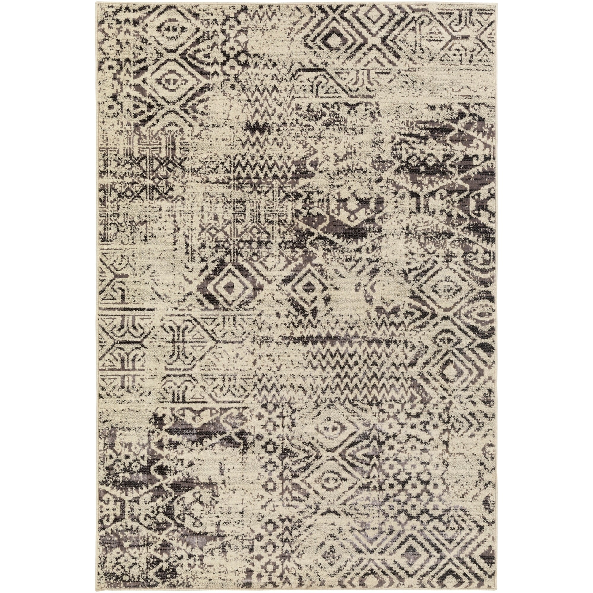SURYA Machine Made Prospect Polyester/Wool Rug (5'3 x 7'3...