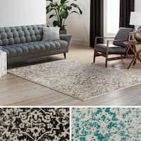 Quail Wool & Polyester Blend Area Rug