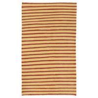 Herat Oriental Afghan Hand-woven Wool Mimana Kilim (3'1 x 5')