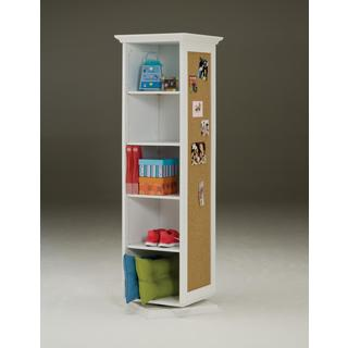 White Swivel Storage Cabinet