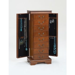 Cherry Jewelry Armoire