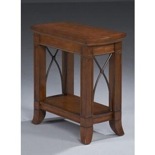 Bernards Cathedral Cherry MDF/Pine/Veneer Side Table