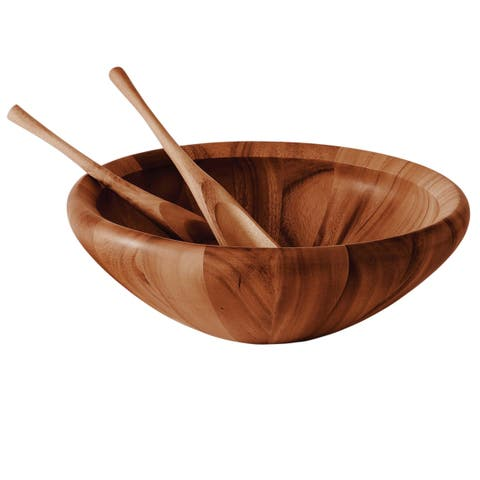 Dansk Wood Classics Original 3-piece Salad Set