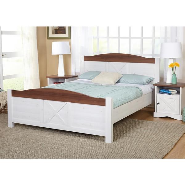 Simple Bedroom Furniture: Shop Simple Living Juliette Queen-Size Bed And Nightstand