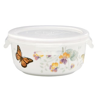 Lenox Butterfly Meadow Round Serve and Store Container