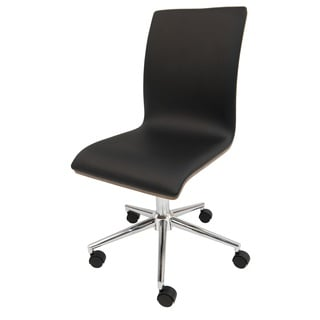 Yatasto Faux-leather and Steel Task Chair