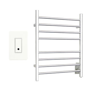 Warmly Yours Sierra Polished Towel Warmer Hardwired With WeMo Wi-Fi Switch