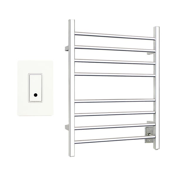 Towel Heaters For Sale: Shop Warmly Yours Sierra Polished Towel Warmer Hardwired