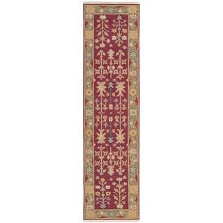 Nourison Nourmak Burgundy Area Rug (2'6 x 10')