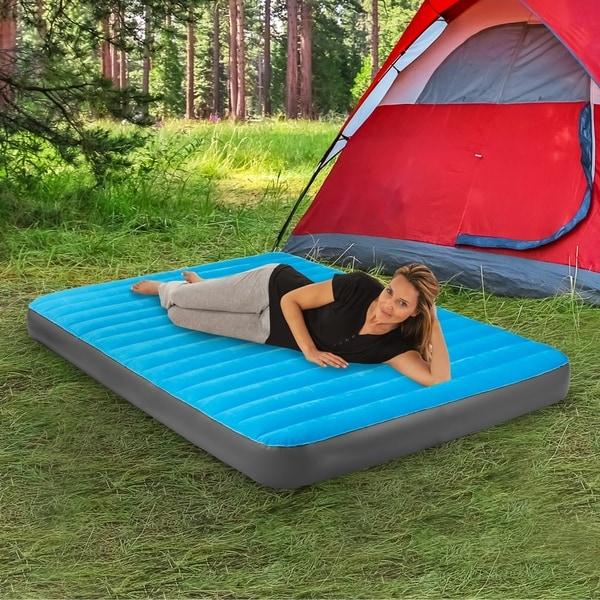 Air Comfort Camp Mate Queen Size Raised Mattress Waterproof Portable Durable