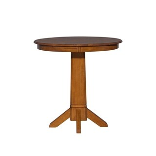 Creations Lifestyle Tobacco Pub Table - Brown