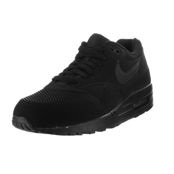info for 40b37 436d9 Nike Men  x27 s Air Max 1 Essential Black Black Running Shoe