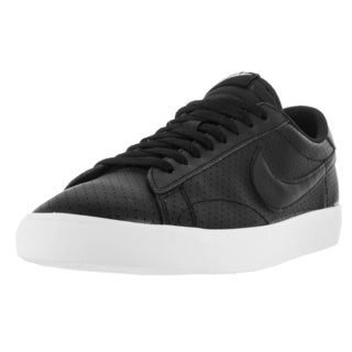 Nike Men's Tennis Classic AC Black/White Synthetic Leather Tennis Shoes