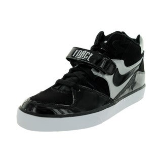 Nike Men's Auto Force 180 Mid Black/Silver/White Casual Shoe