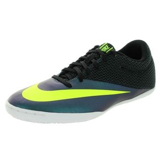 Nike Men's Mercurialx Pro Ic Squadron Blue/Volt/Black Synthetic Indoor Soccer Shoe
