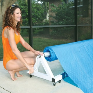 Deluxe Low Profile In-ground Pool Solar Cover Reel
