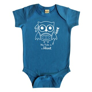 Rocket Bug 'My Tribe is a Hoot' Owl Baby Bodysuit