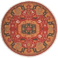 Nourison Nourmak Red Area Rug (8' Round)