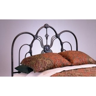 Madrid Bronze Steel King Headboard