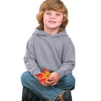 Boys' Heather Fleece Hooded Pullover