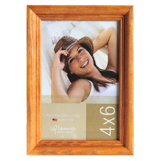 Life Moments Natural Wood Frames (Pack of 6)