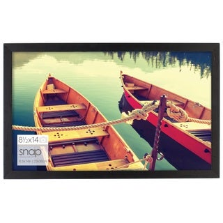 Black Wood Snap Frame (Option: 13x19)