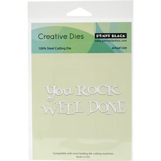 """Penny Black Creative Dies Well Done, 4.25""""X1.5"""""""