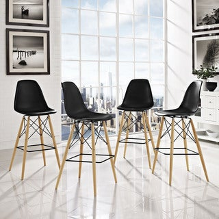 Pyramid Dining Side Bar Stool (Set of 4)