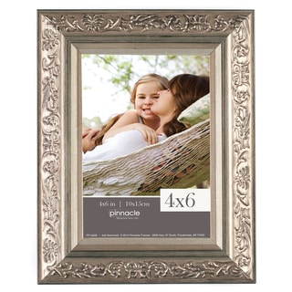 Pinnacle Champagne Wood Ornate Frame