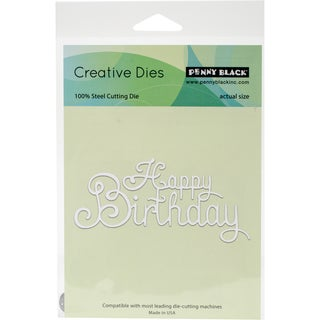 "Penny Black Creative Dies Your Day, 4.25""X2"""