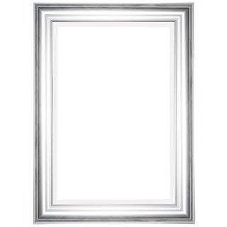 Silver Metal 24-inch x 36-inch Beveled Mirror