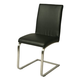 Monaco Black Side Chair (Set of 2)