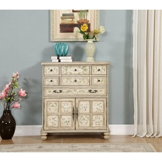 Somette Off-white Wood 7-drawer Chest