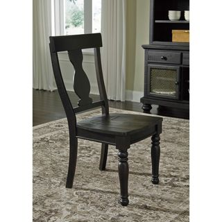 Signature Design by Ashley Sharlowe Charcoal Dining Room Dining Chair (Set of 2)
