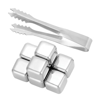 Oggi Durable Stainless Steel Ice Cube Set