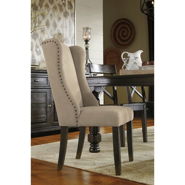 Shop Signature Design By Ashley Gerlane Light Brown Dining Chair