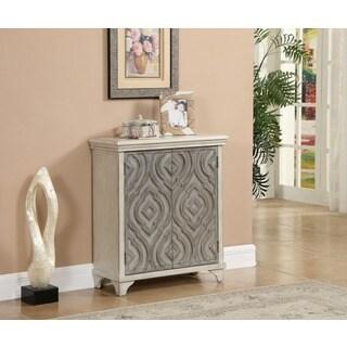 Christopher Knight Home Grey MDF, Wood 2-door Cabinet
