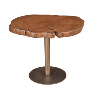 Christopher Knight Home Wood and Iron Accent Table