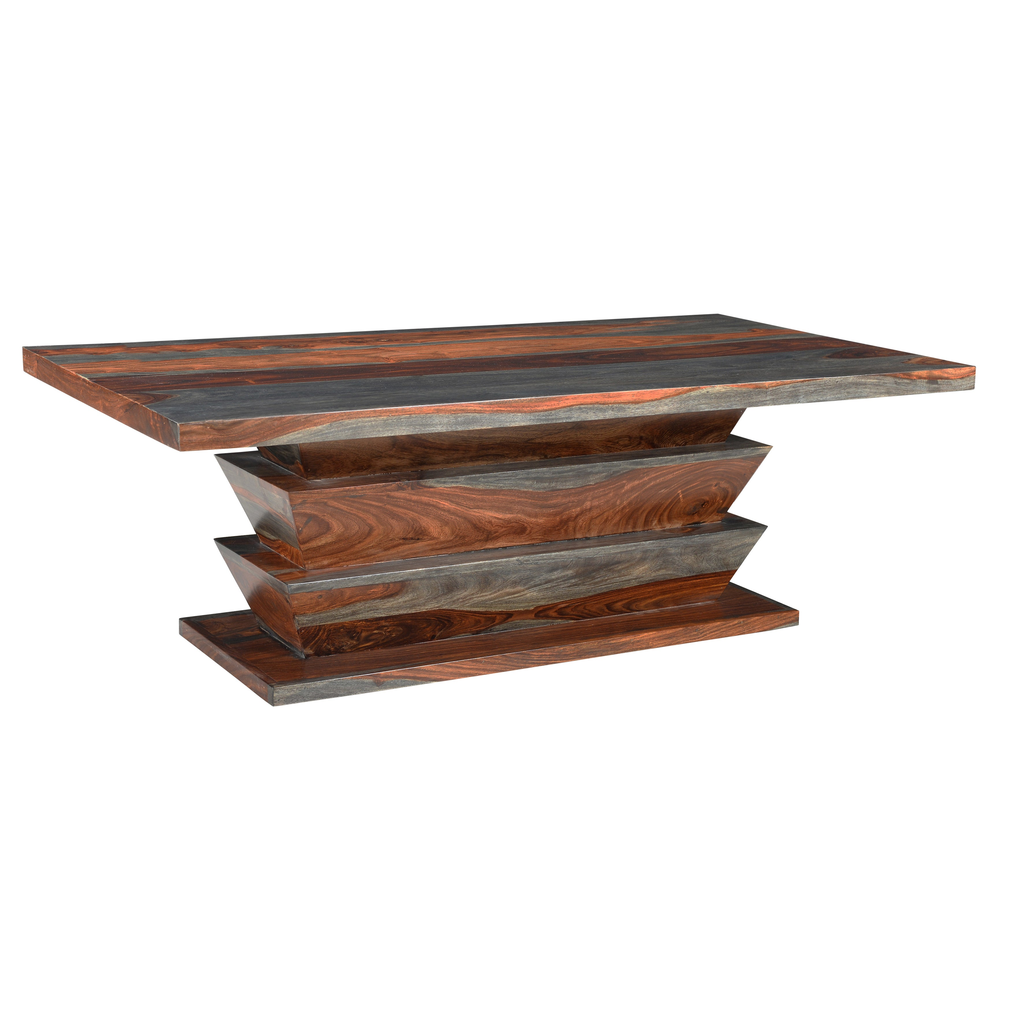 Christopher Knight Home Grey Sheesham Wood Cocktail Table...