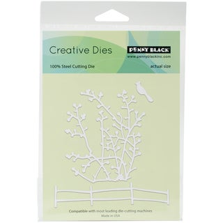 """Penny Black Creative Dies Berry Branches, 3.7""""X4.1"""""""