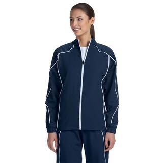 Team Prestige Women's Navy/White Full-zip Jacket