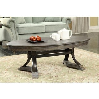 Christopher Knight Home Distressed Brown Cocktail Table