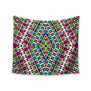 KESS InHouse Dawid Roc 'Colorful Tribal Pattern' Multicolor Blue 51x60-inch Tapestry