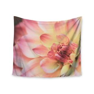 KESS InHouse Debbra Obertanec 'Pastels Of Spring' Pastel Floral 51x60-inch Tapestry