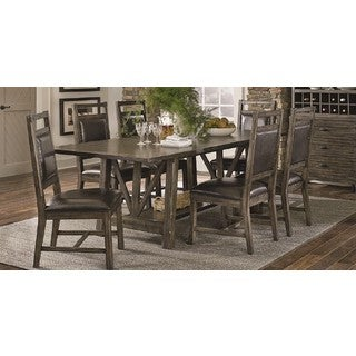 Distressed Wood Style Dining Table